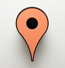 Project Google Birdhouse: Google Maps Icon Inspired Birdhouses