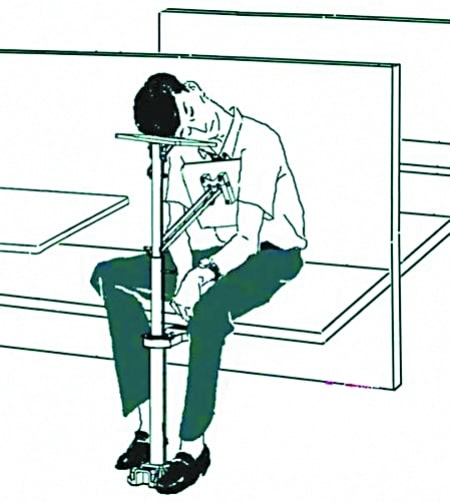 public-sleeping-rack-device