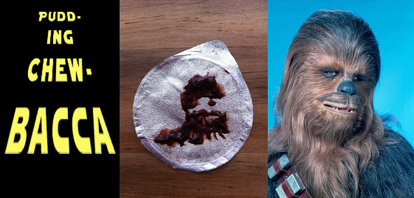 Pudding Pictures: The Geeky Portraits You Can Find In Your Pudding