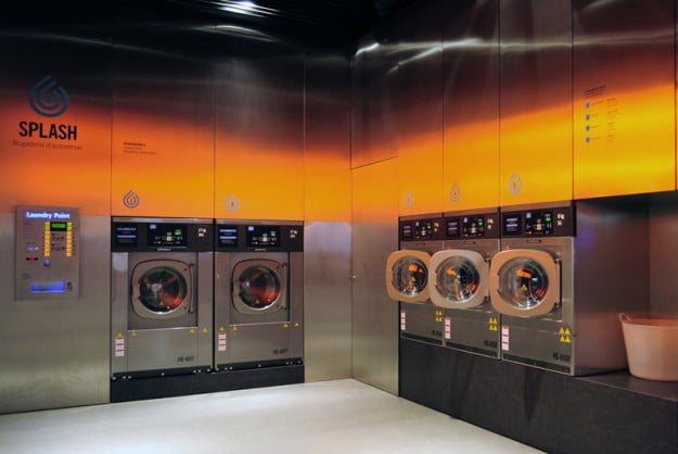 wash-clothes-modern-laundromat
