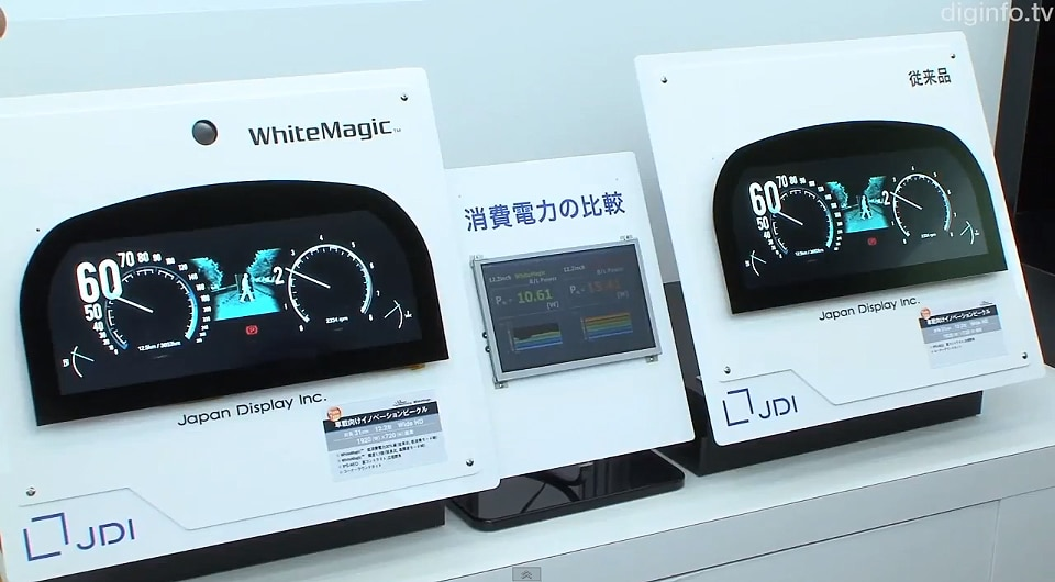 Japan To Launch Ultra-Thin Car Dashboard Touchscreen In 2013