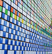 World Record: The Largest Rubik's Cube Wall Mosaic (85,794 Cubes)