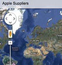Worldwide Apple Suppliers Interactive Map Shows Where Apple Buys Parts
