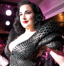 Private: World's First 3D Printed Couture Dress (Covered In Swarovski Crystals)