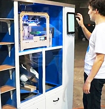 3D Printing Vending Machine Creates 3D Printed Designs Fast & Easy