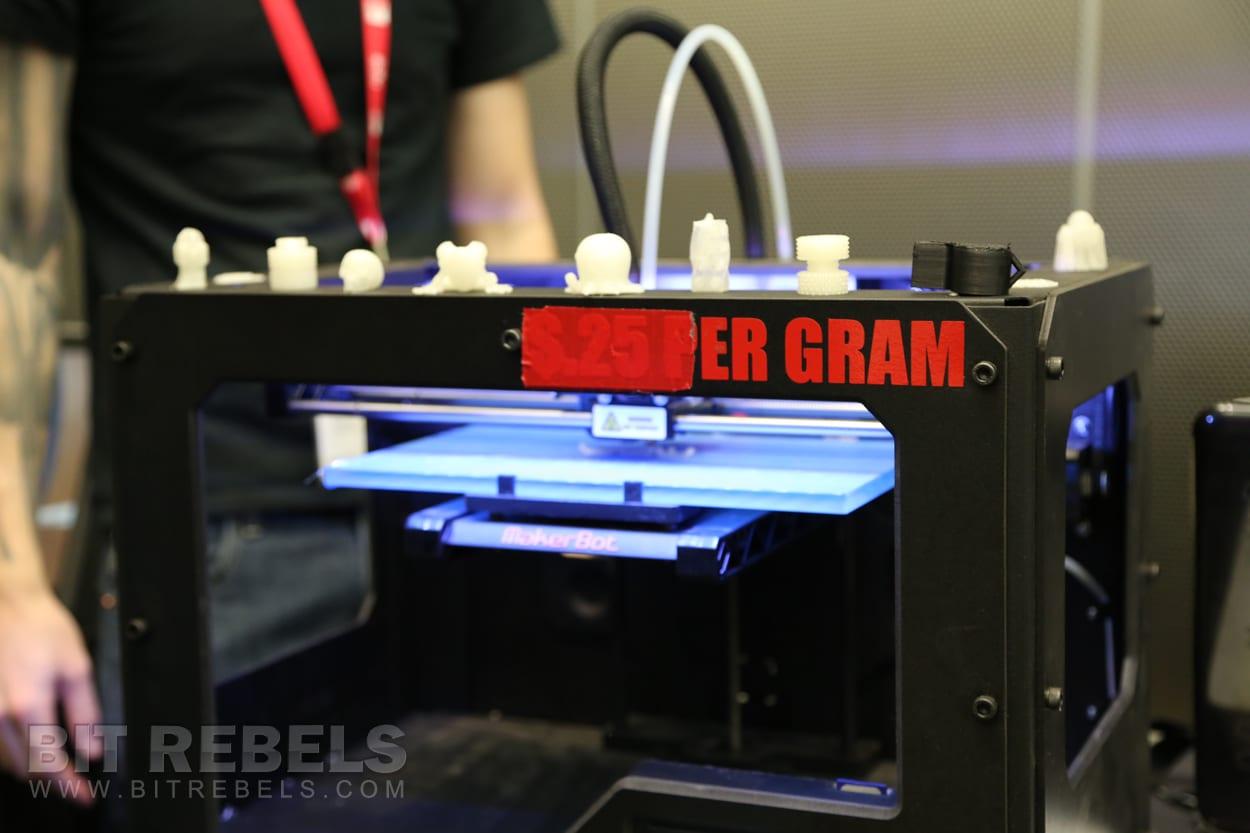 TechShop's MakerBot 3D Printer Interview