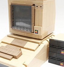 LEGO Version Of The Classic Apple II Computer (Including Internals)