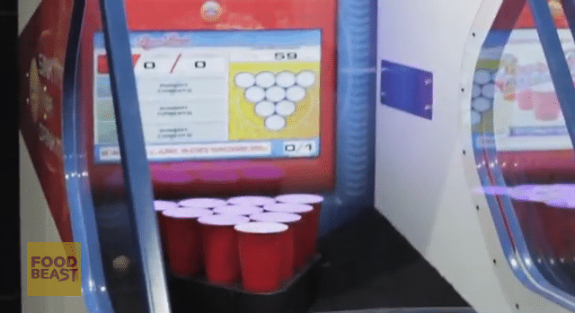 Beer Pong Arcade Game Set To Reach Your Corner Pub Soon