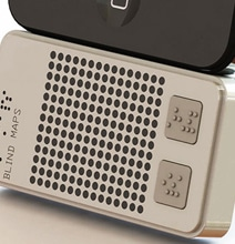 Braille Map iPhone Accessory Guides The Blind Through Touch