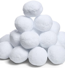 The Big Bag Of Snowballs: Perfect For An Indoor Snowball Fight