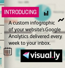 Visual.ly Makes Free Infographic Of Your Website's Google Analytics