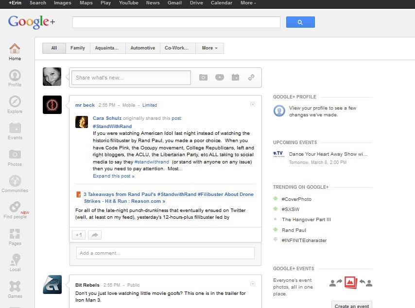 Much Needed Changes To The Facebook Newsfeed Look A Lot Like Google+