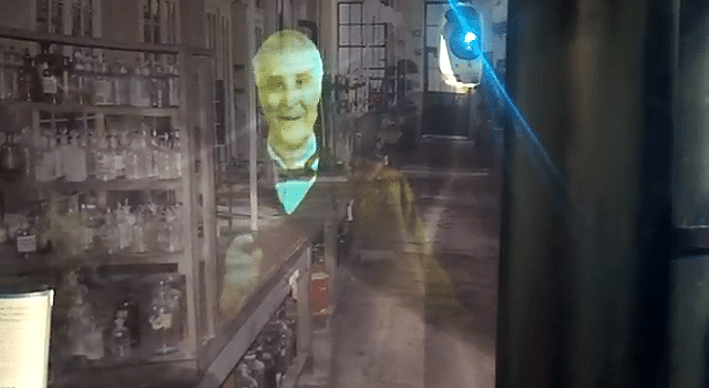Holographic Projection Goes Full Body With Thomas Edison [Video]