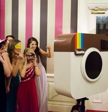 Instagram Inspired DIY Photo Booth For Your Next Party