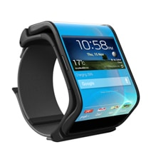 Future Smartphones Transform Into Trendy Wristwatches
