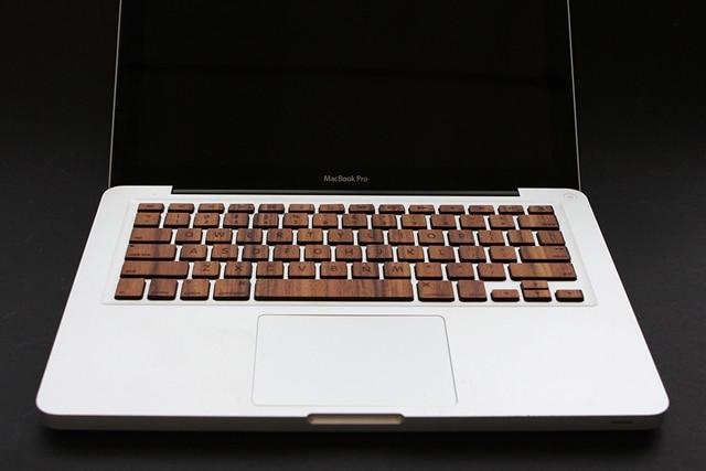 Wood Keyboard Macbook