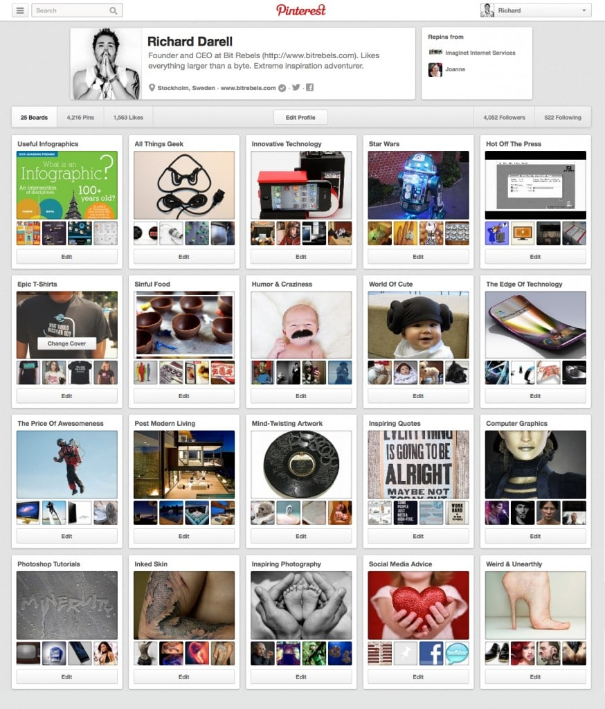 452117cffa5 Pinterest s Pin View Gets A New Design With Larger Images