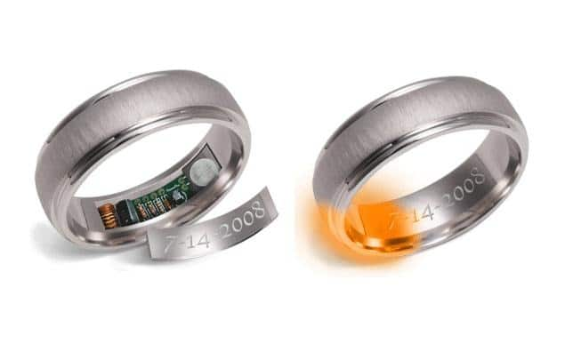 Remember Rings: Heat Up When Your Anniversary Date Approaches