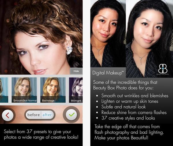 Beauty Box Photo App: Retouch Your Pics Like A Photoshop Professional