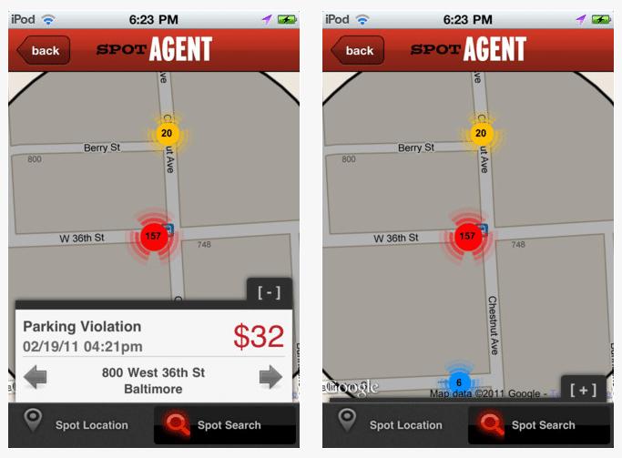 spotagent-parking-alert-app