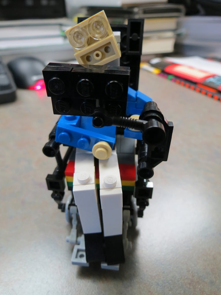 Build Your Own Stephen Hawking: Unofficial Stephen Hawking LEGO Kit