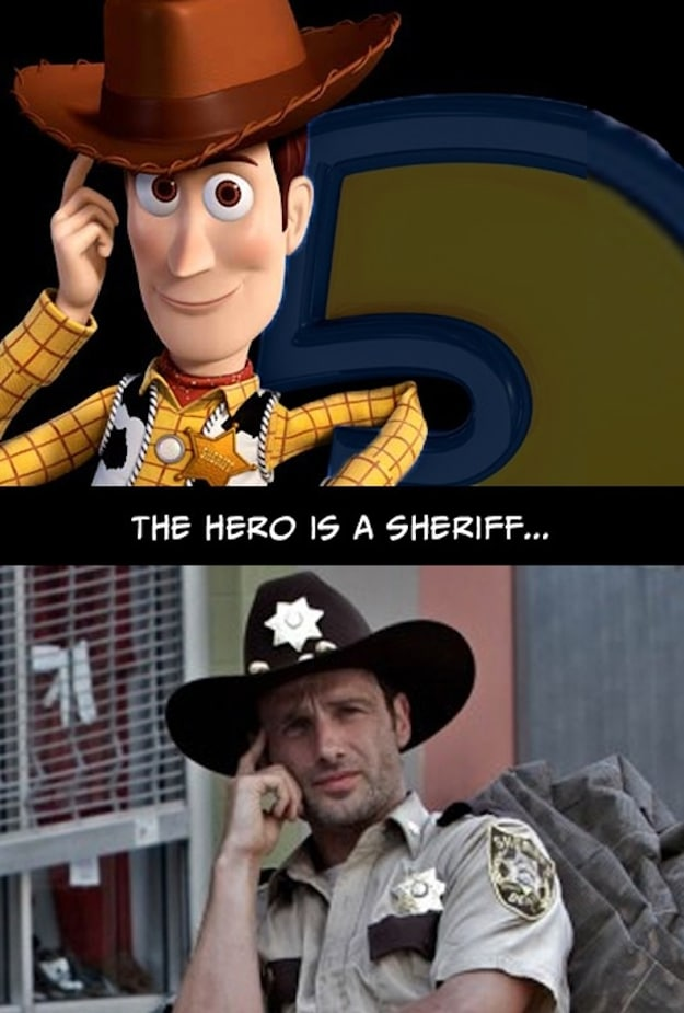 Toy Story & The Walking Dead Are The Same Story [25 Pics To Prove It]