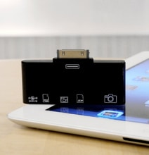 Ultimate All-In-One CF & SD Card Reader For iPad