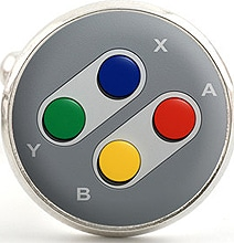 Video Game Controller Cufflinks Will Make Your Inner Geek Smile