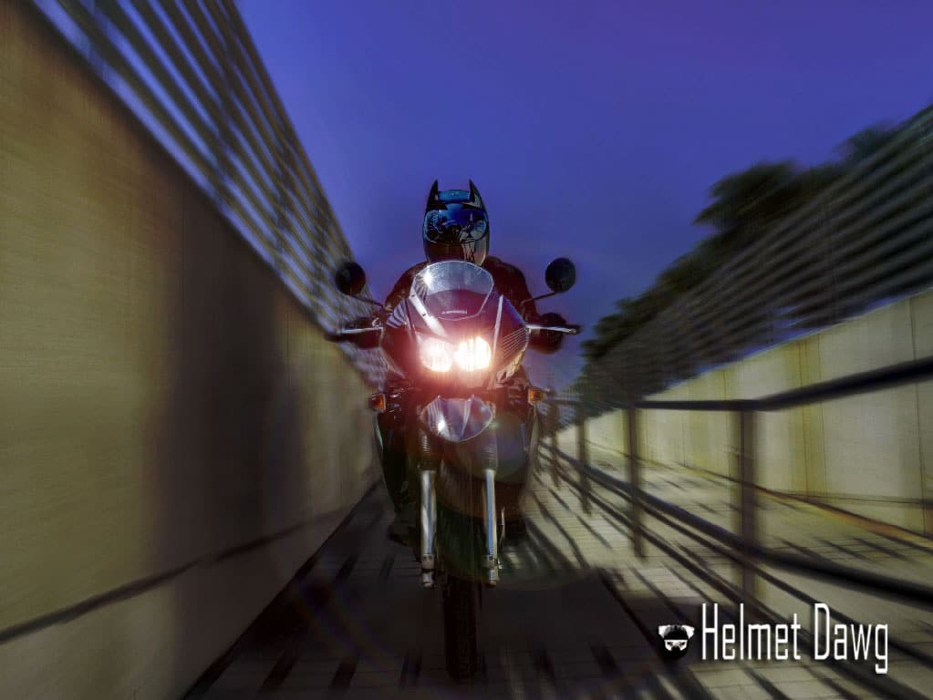 Bat-Helmet: Custom Motorcycle Helmet For The Ultimate Batman Fan