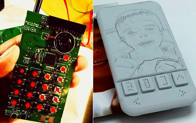 Touchscreen Braille Smartphone For Visually Impaired