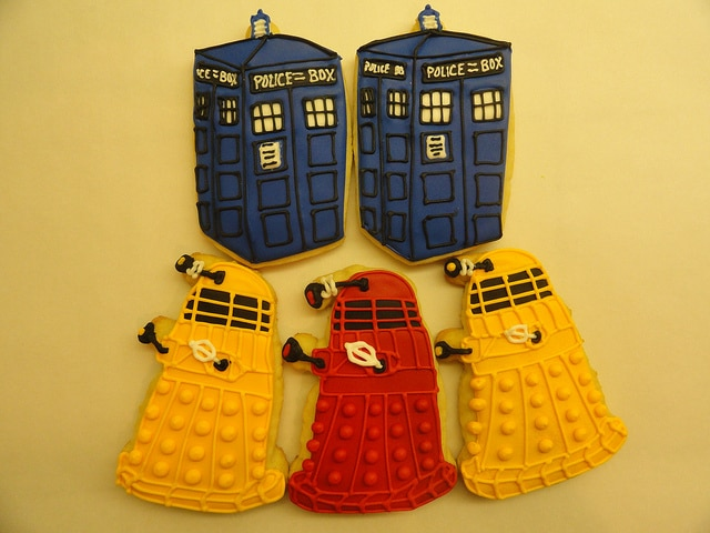 doctor who themed wedding favors