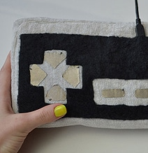 DIY Video Game Controller Couch Pillow That Actually Works
