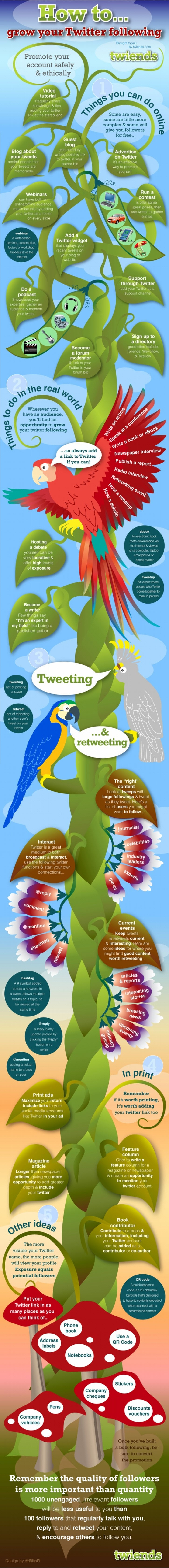 40 Legit Ways To Increase Your Twitter Followers [Infographic]