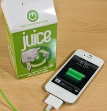 The Juice Box Smartphone Charger Will Get Your Juices Flowing