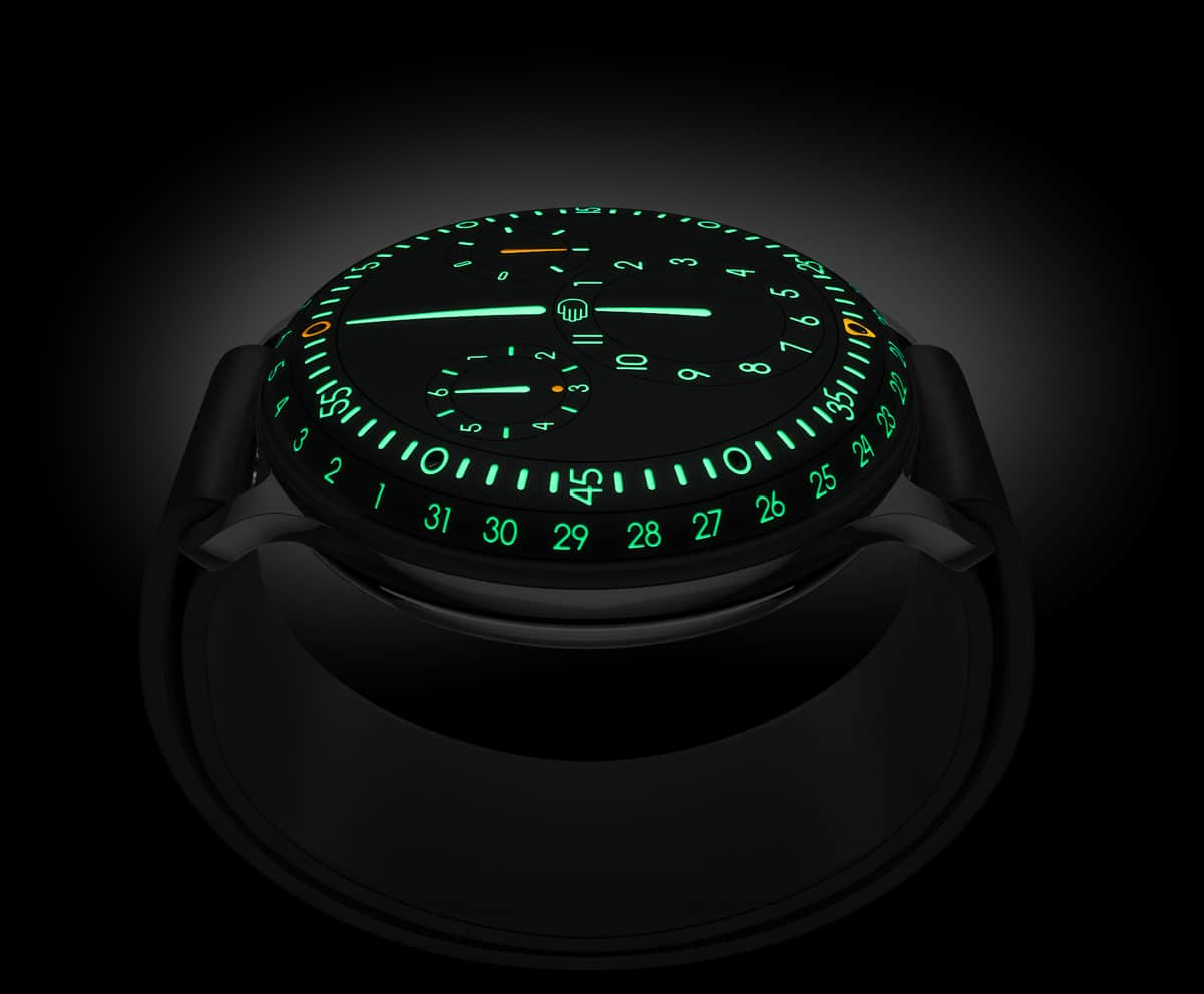 Liquid Watch Turns Wrist Watches Into Futuristic Time Pods