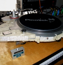 Millennium Falcon Turntable Is The Fastest Record Player Ever