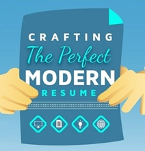 Crafting The Perfect Modern Resume [Infographic]