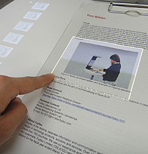 Innovative Software Turns A Piece Of Paper Into A Touchscreen