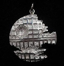 Custom Star Wars Death Star Pendant Will Beam Around Your Neck
