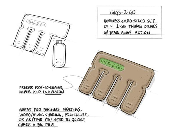 tear-off-flash-drive