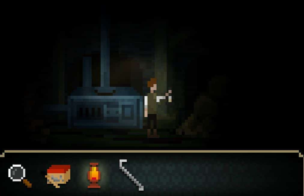 Experience 8-Bit Horror In The Last Door Indie PC Game