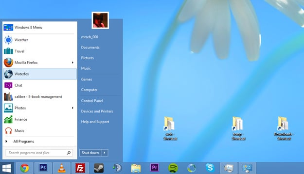 The Windows 8 Start Button Is Making A Comeback