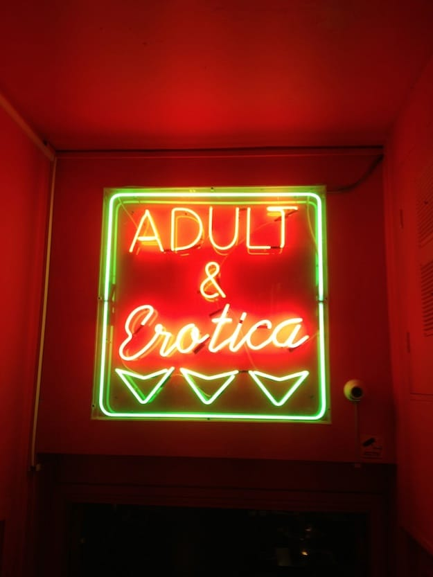 Entrance-To-Activities-Erotica-Neon