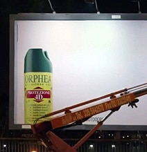 Interactive Bug Spray Billboard Proves Its Point With 230,000 Insects