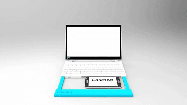 Casetop Turns Any Smartphone Into A Speedy Laptop