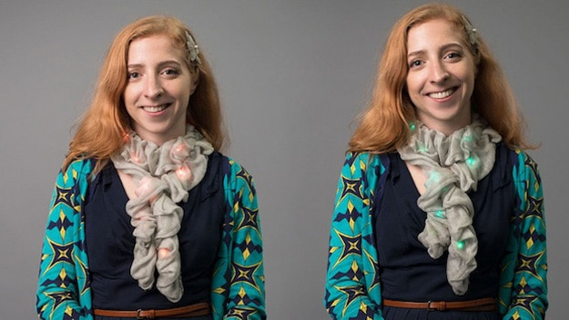 DIY Tech Fabric Changes Colors To Match The Rest Of Your Outfit