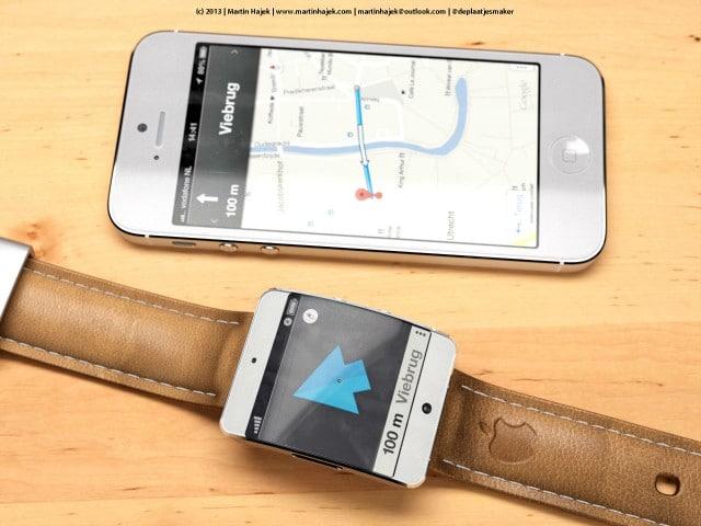 Rumored iWatch Concept Showcases Slim Maps UI