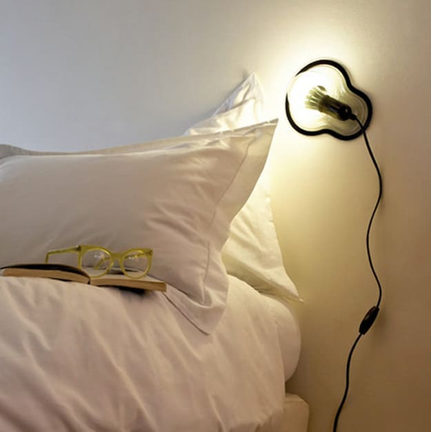 Sticker Lamp Design: Just Peel & Stick It To Your Wall For Light