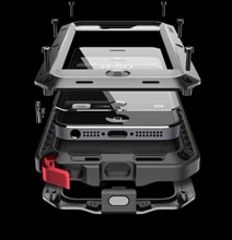 Lunatik Taktik: The Kickass Throw-Around Safety iPhone 5 Case