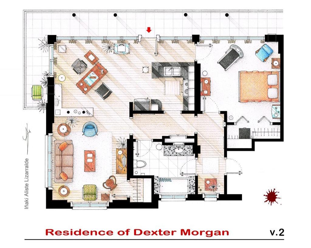 famous-television-apartment-floor-plans